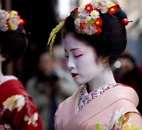 漂亮的京都艺妓